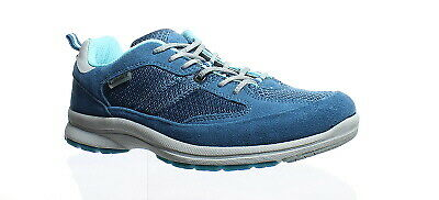 e5592083cb Allrounder by Mephisto Womens Darga Blue Suede/Mesh Walking Shoes Size 6