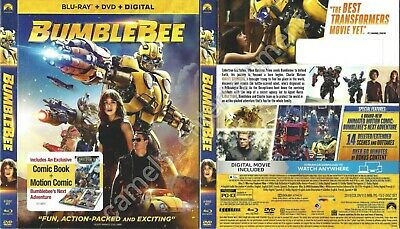 Bumblebee (SLIPCOVER ONLY for Blu-ray)