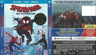 Spider-Man: Into the Spider-Verse (SLIPCOVER ONLY for Blu-ray)
