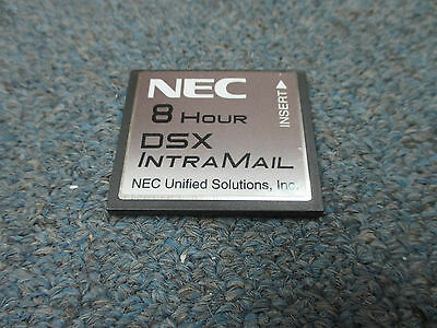 NEC DSX 40 80 160 1091011 V1.4 G Intramail 4 Port 8 Hour Flash Voice Mail Sys