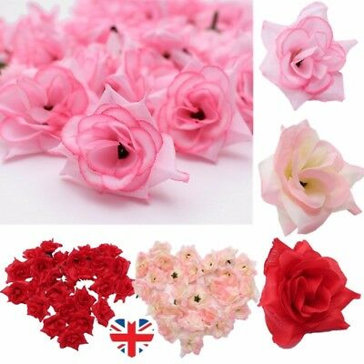 Artificial Lot 1.75'' 25/50/100Pcs Wedding Home Decor Roses Silk Flower  !