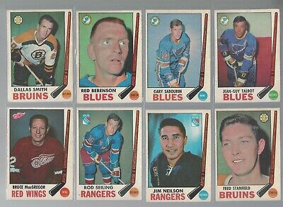 1969-70 O-Pee-Chee OPC FINISH YOUR SET VG to EX and better LOW SHIPPING Pick one