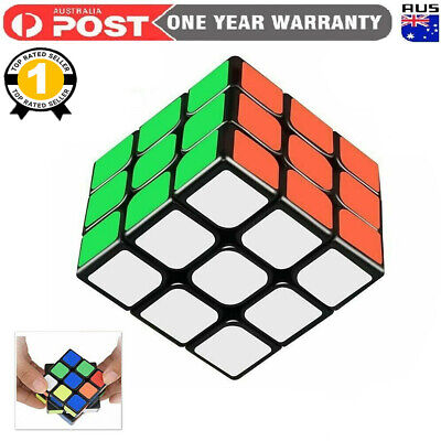 Magic Cube 3x3x3 Super Smooth Fast Speed Rubix Rubic Puzzle Competition SSPP AU