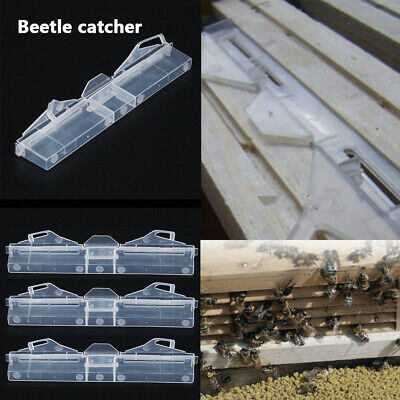 Reusable Beetle Catcher Trap Beekeeping Apiary Bee Hive Protector Equipment