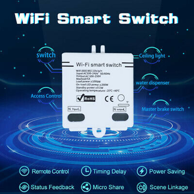 Universal Sonoff ITEAD Smart Home WiFi Wireless Switch Module For APP Cont RKO