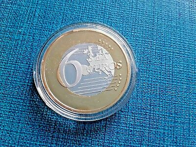 Sex Euros 6 € Moneda Coin Conmemorativa Central Bank En Estuche Rare