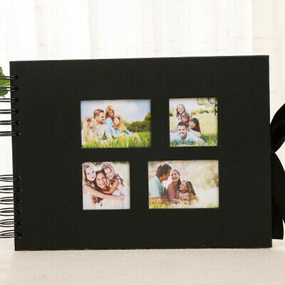Handmade Photo Album Creative 10 Inch Coil Binding Paper 40 Pages Gift Scrapbook