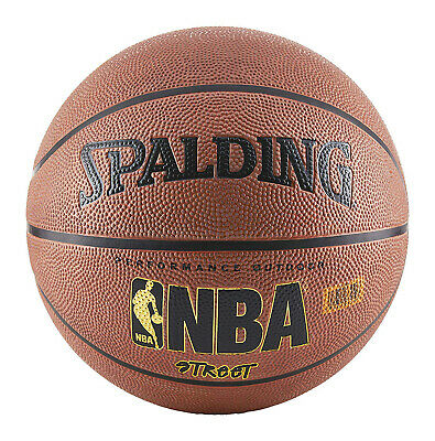 SPALDING NBA STREET BASKETBALL Professional Game Play Official Size Rubber