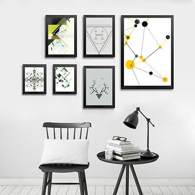 Nordic Art Geometry Abstract Minimalism Canvas Poster Print Home Decoration