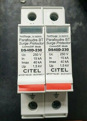 Citel Ds40D-230 Surge Protector  (In36S1B1)