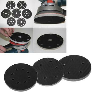 "5"" /125mm 5/6/8 Holes Hook Loop Soft Sponge Cushion Interface Buffer Pad Set"