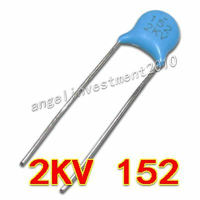 222 High Voltage Ceramic Capacitor 2200pF 2.2nF .0022uF 1kV 2kV 3kV Ship from US