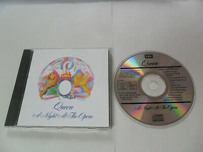 Queen - A Night At The Opera (CD) Holland Pressing