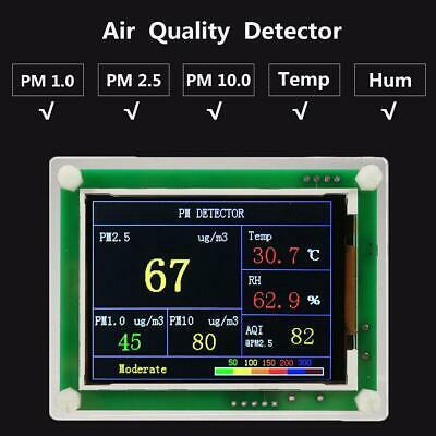 2.8Inch Digital Car PM2.5 Air Quality Detector Tester Meter Gas Monitor Pro KN