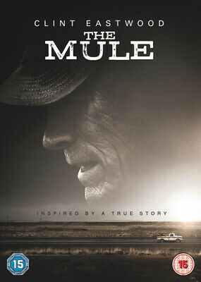 The Mule DVD (2019) Clint Eastwood ***NEW***