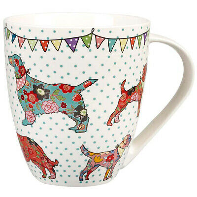 Queens Couture Festival Dogs Fine China 500ml Crush Mug