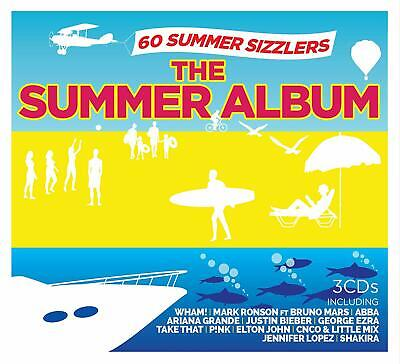 The Summer Album Various Artists 3 Cd Set New (21St June)