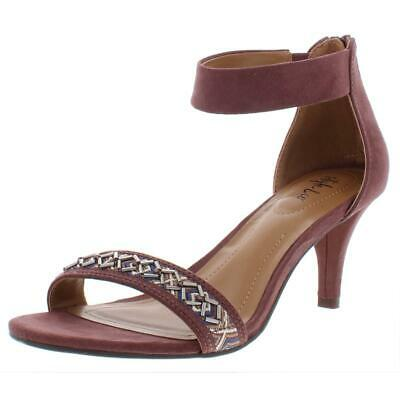 Womens Paycee 3 Faux Suede Chevron Dress Sandals Style /& Co