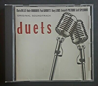 DUETS: Music from the Motion Picture, Various Artists Soundtrack CD EXCELLENT