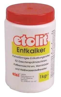 Descaler Etolit for Coffee Dishwasher Pulverförmig 1kg Sulfamic Acid