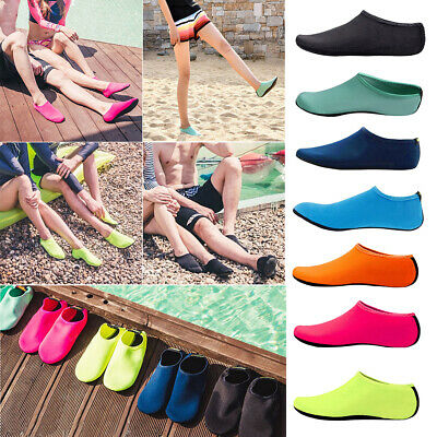 Men Women Water Shoes Barefoot Aqua Socks Quick-Dry Beach Swim Sports Exercise G