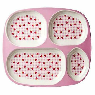 NEW RICE Kids melamine tray - Strawberry
