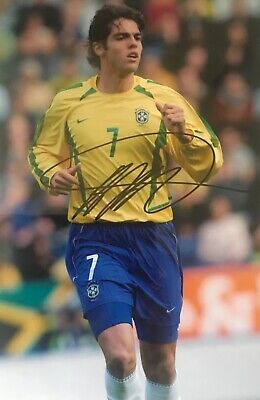 Kaka Brazil Brasil signed 12x8 photo D UACC AFTAL Registered dealer COA RACC