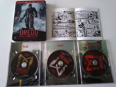 Dredd [Combo Collector Blu-ray 3D + Blu-ray + DVD]