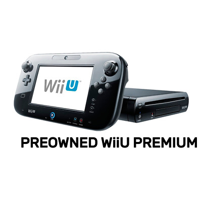 Nintendo Wii U Premium Console (Refurbished by EB Games) preowned - Nintendo Wii
