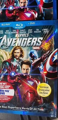 Marvel's The Avengers (2-Disc Blu-ray/DVD Set) with sleeve