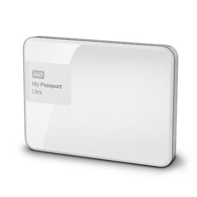 WD My Passport Ultra 1TB Brilliant White Manufacturer Refurbished Hard Drive ...