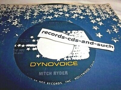 Mitch Ryder-What Now My Love/Blessing In Disguise-Dy 901 Nm Vinyl Record 45