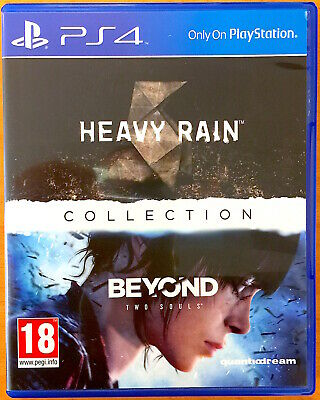 Heavy Rain - Beyond Two Souls - Collection - PS4 Games - Very Good Condition