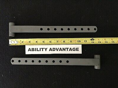 2 NEW Permobil TRAY or CHEST ROLL BRACKETS - Part #302856-28-0