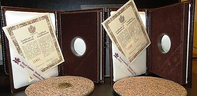 LOT 2 1993 Canada $100 Gold coin Case, COA 1 Box Only, RCM Horseless Carriage