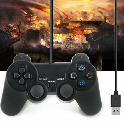 USB Port Wired Game Controller Gamepad Joypad for Laptop PC Computer Msonic PS3