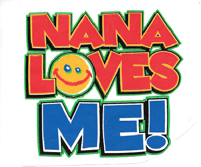 nana love me kid t shirt baby shower toddler gift one piece new born US size 1