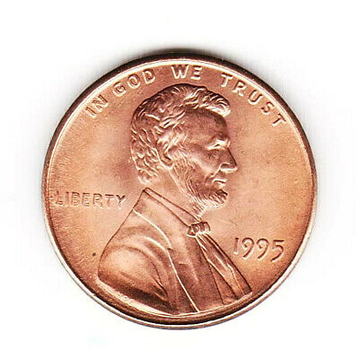 1995-P Double Die Obverse Lincoln Memorial Cent Uncirculated Error Coin,FREE S&H
