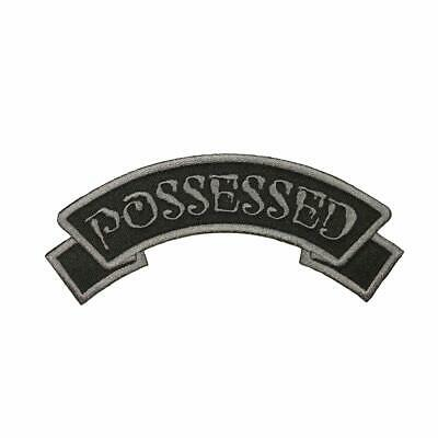 """Authentic KREEPSVILLE 666 Arch Possessed Embroidered Patch 5"""" x 2"""" NEW"""
