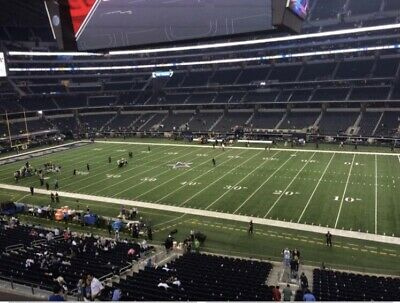 2 Washington Redskins vs Dallas Cowboys Tickets 12/29 Club Level Seats