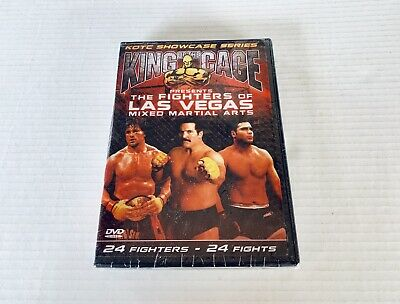 King of the Cage The Fighters of Las Vegas DVD Box Set NEW Severn Mezger Sherk +