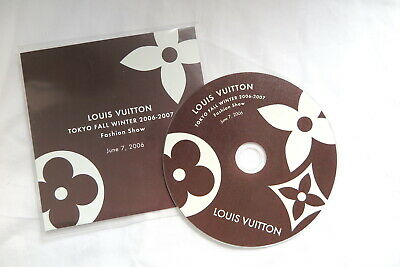 Louis Vuitton Tokyo 06 FW show cd-rom for catalogue book monogram speedy wallet