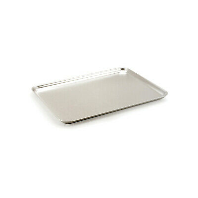 Baking Sheet 368x267x19mm Aluminium Flat Edges Bakeware Cookie Tray Dish Pan