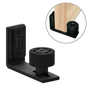 Wall Mount Double pulley system Floor Guide  for Sliding Door Hardware