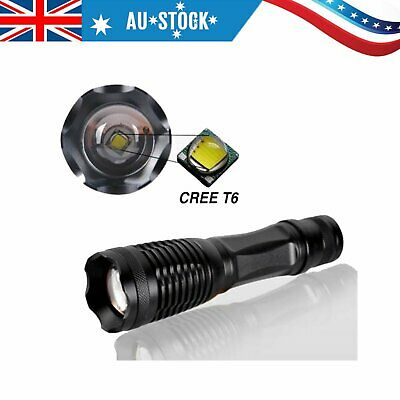 1000LM Flashlights LED Torch Light Zoomable Water-Resistant Portable Adjustable