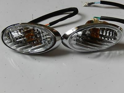 Milano Retro scooter 50cc-150cc Left & Right Rear Turn Signal Lights Lance Benzh
