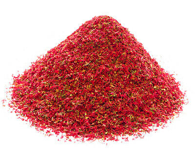 Dried Pomegranate Flower Small Grade, Red Flowers Coctail Garnishes Tea Making