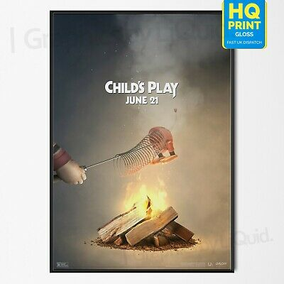 Child's Play Poster Horror Movie 2019 Slinky Toy Story Film Print | A4 A3 A2 A1