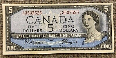 1935 Bank of Canada $25 - BC-11. CCCS UNC-63. A true Unc. with lots of embossing