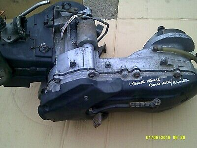 yamaha cygnus x 125 nxc125 engine motor 05 onwards  tested working efi injection